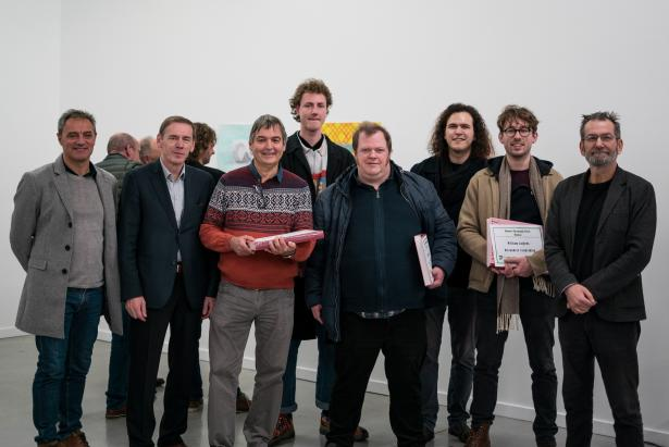 prijsuitreiking Ronse Drawing Prize 2019